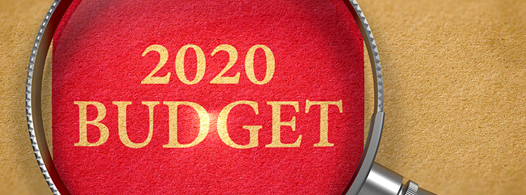 Budget 2020 – Announcements and Tax Rates